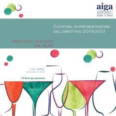 Cocktail di presentazione del Direttivo 2019-2021