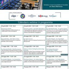 Nuovo ciclo di webinar organizzato da Assodata con il patrocinio di AIGA: #CHISIFERMASIFORMA