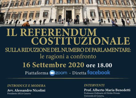 Il referendum costituzionale sulla riduzione del numero dei parlamentari: le ragioni a confronto