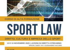 Sport Law   Diritto, cultura e impresa dello sport